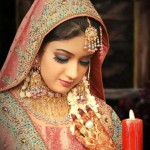 Traditional Pakistani Bridal Makeup  1
