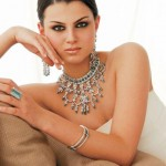 Silver and diamond Jewelry By Hanif Jewellers 6