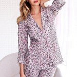 Soft Simple Cozy Sleeping Pajama Dress 10