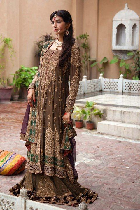 Traditional Bridal Dress Collection By Ayesha Imran 2