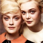 Elle and Dakota Fanning Featured in 'Vogue' August 2011 2