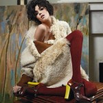 Fendi Fall Winter 2011-2012  Italian Fashion House Ad Campaign 5