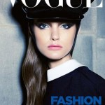 Katie Fogarty On Vogue Cover Page Australia September 2011 Kai Z Feng