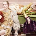 Prada F W 11.12  Antonia, Dorte, Frida, Julia, Kelly and Ondria by  Steven Meisel
