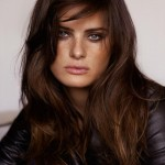 Isabeli Fontana Casual Connexion With Tousled Locks and Smokey Eyes