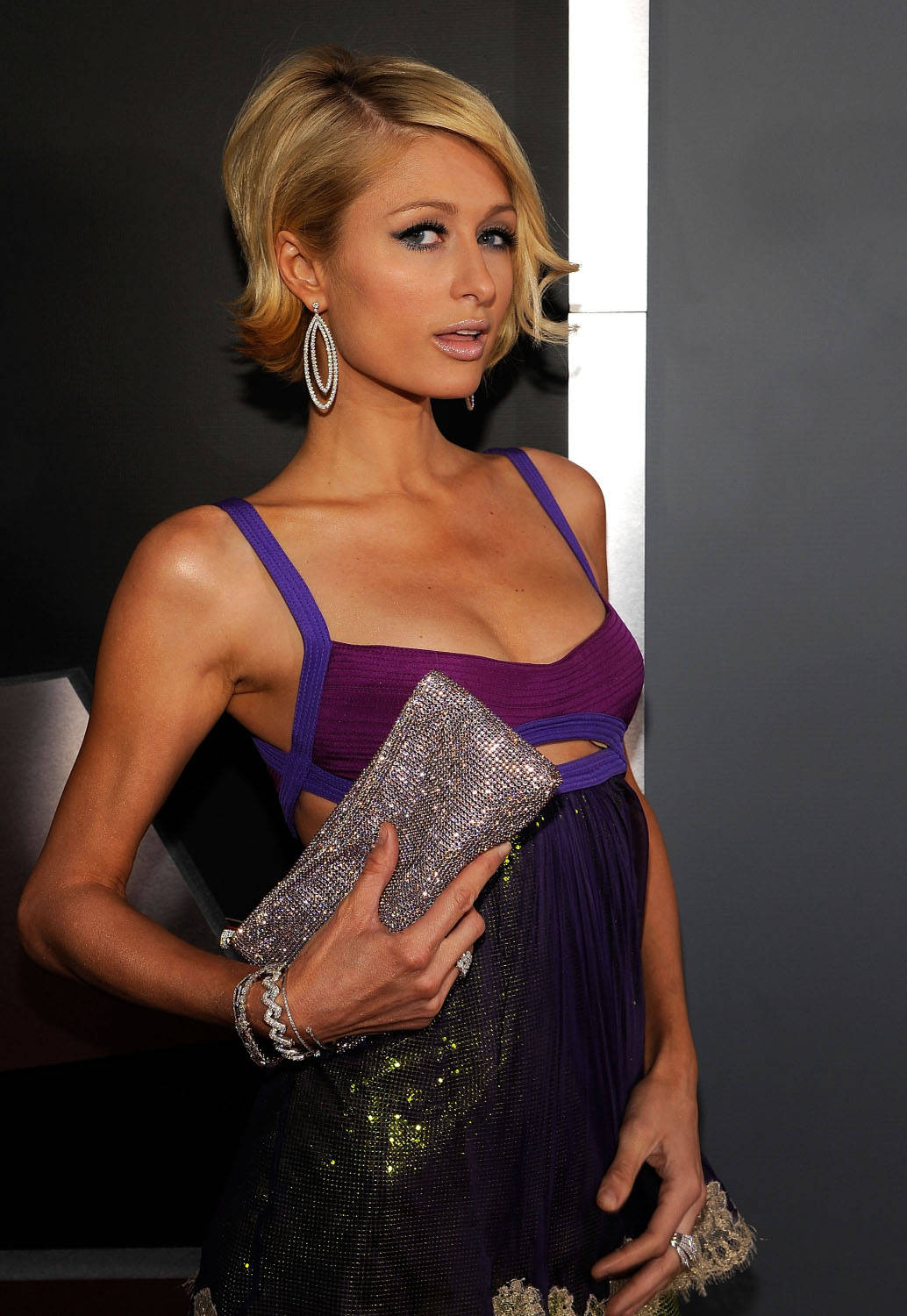 Paris Hilton Diamond Clutch She12 Girls Beauty Salon