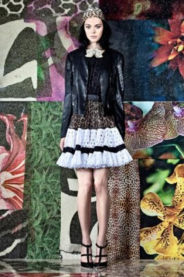 Roberto Cavalli Extraordinary Fantasy Attention Grabbing Resort 2012 Collection 20
