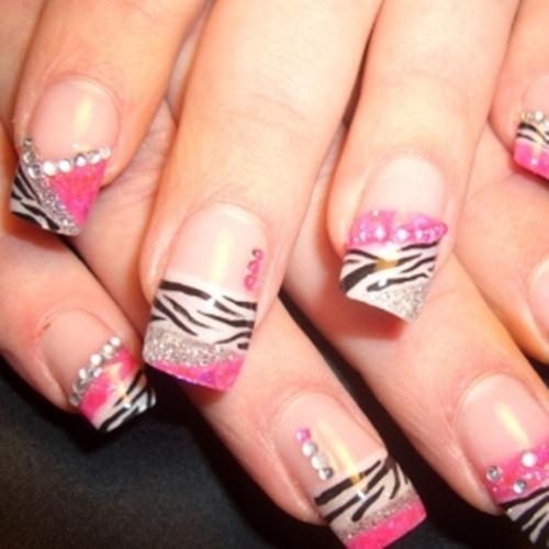Nail Art Designs 2011: Spring Ultra Glam Romantic Nail Art