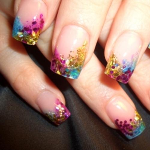 Spring Ultra Glam Romantic Nail Art 12 She12 Girls Beauty Salon