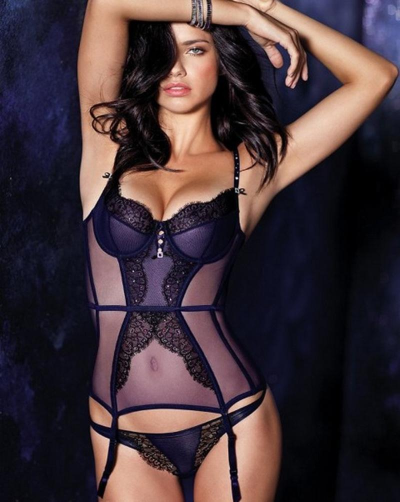 Adriana Lima Victoria's Secret Lingerie Photoshoot | She12: Girls ...