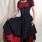 Gothic Wedding Dress For British  5