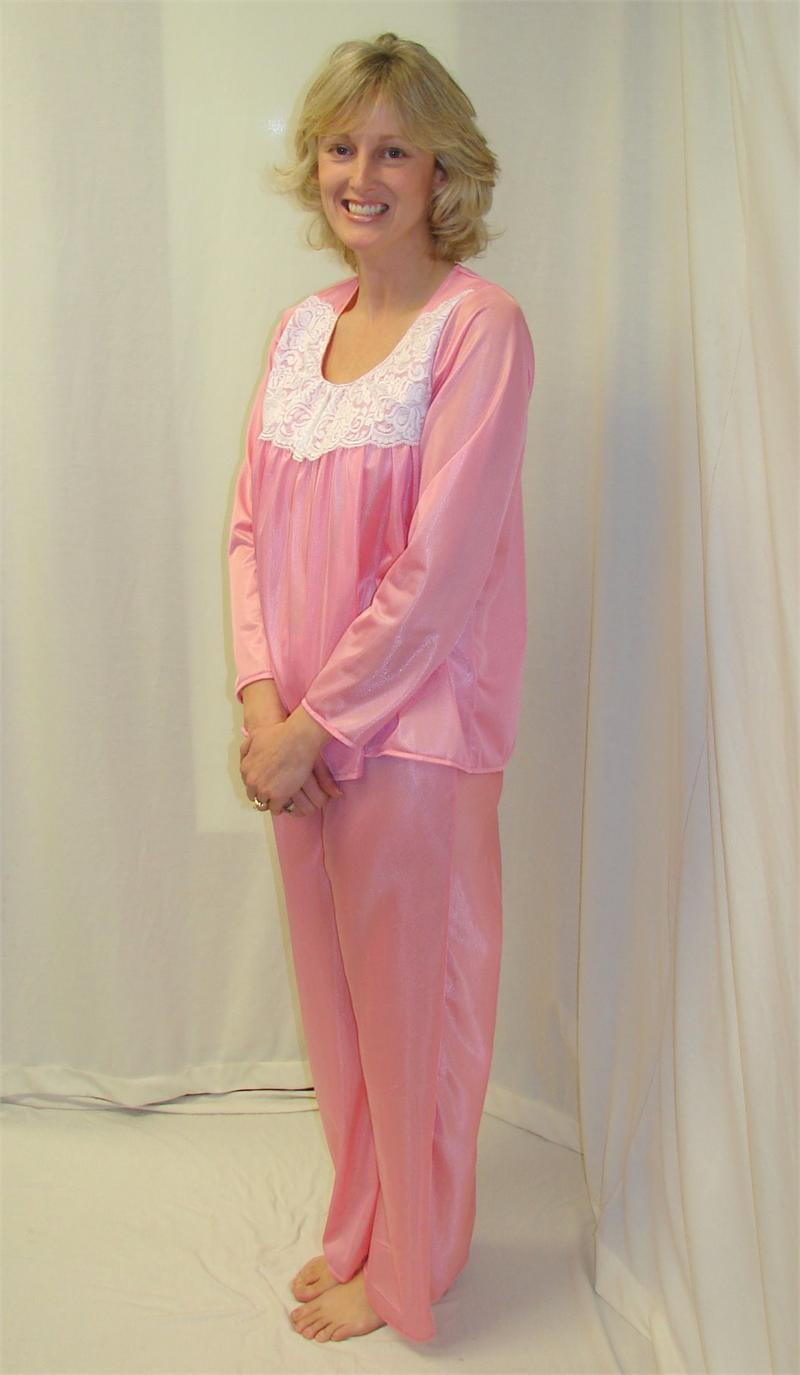 Winter Sleepwear Pajama Shirt For Women Night Dress 13