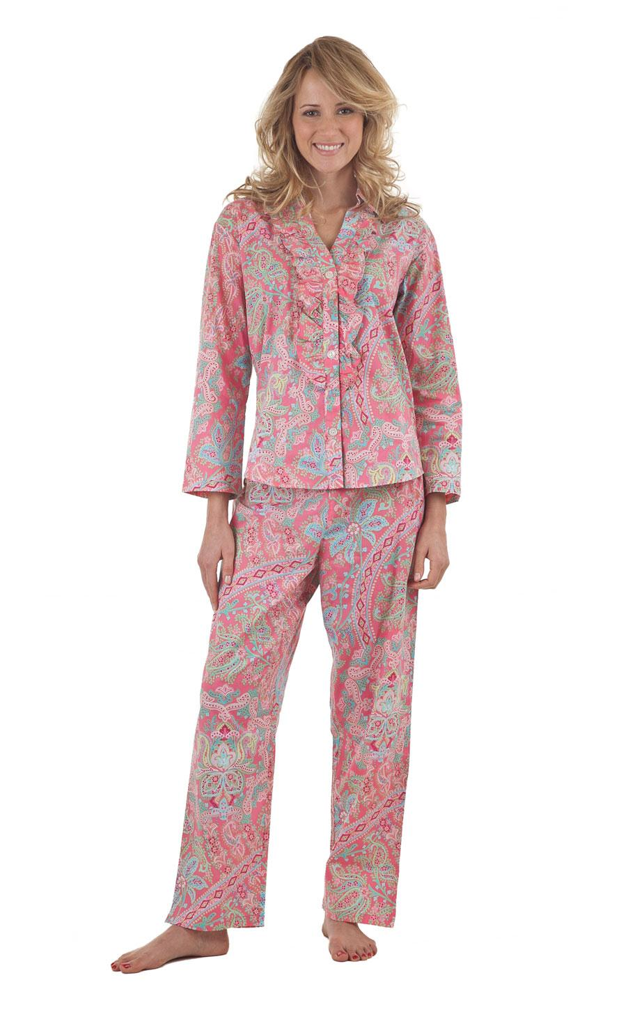 ladies night dress pyjamas - photo #4