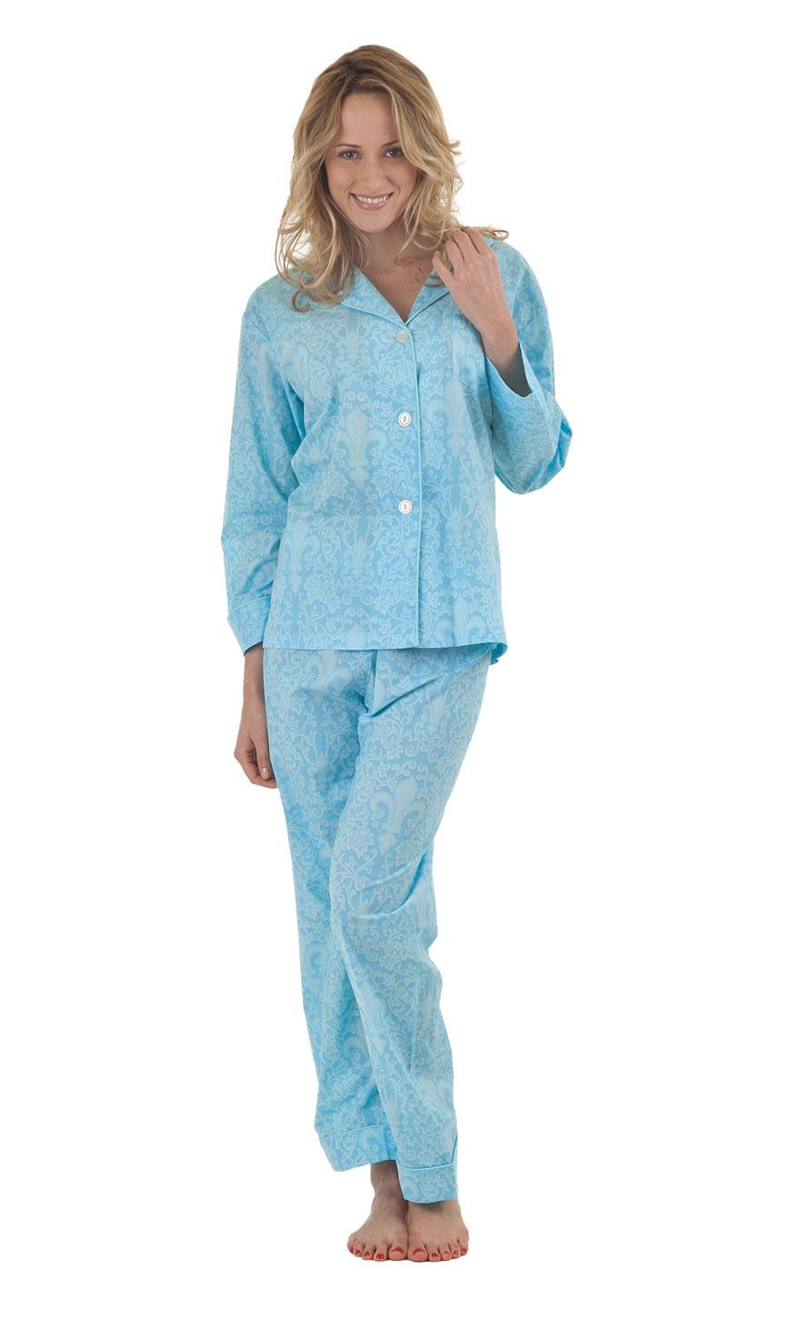 Winter Sleepwear Pajama Shirt For Women Night Dress 7