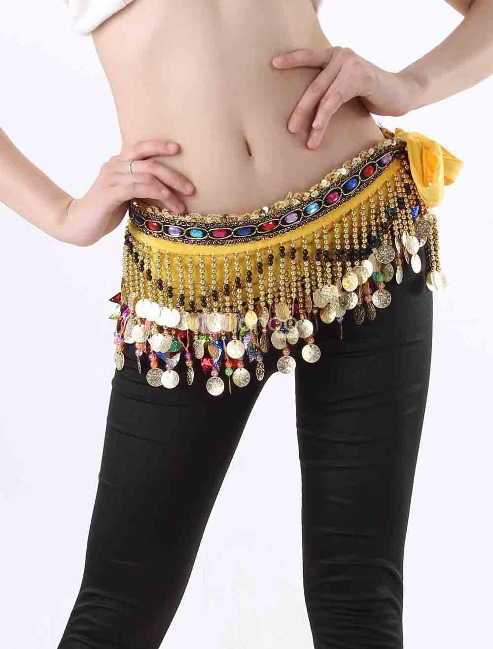 Belly Dance Waist Chain And Hip Scarf 17 She12 Girls