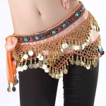 Belly Dance Waist Chain And Hip Scarf  5