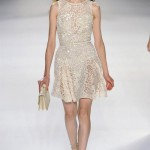 Elie Saab Ultra Feminine Evening Dresses Spring 2012