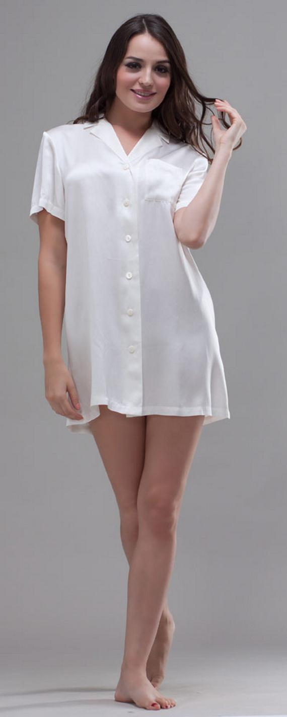White Exquisitely Beautiful And Romantic Luxury Nighties 1