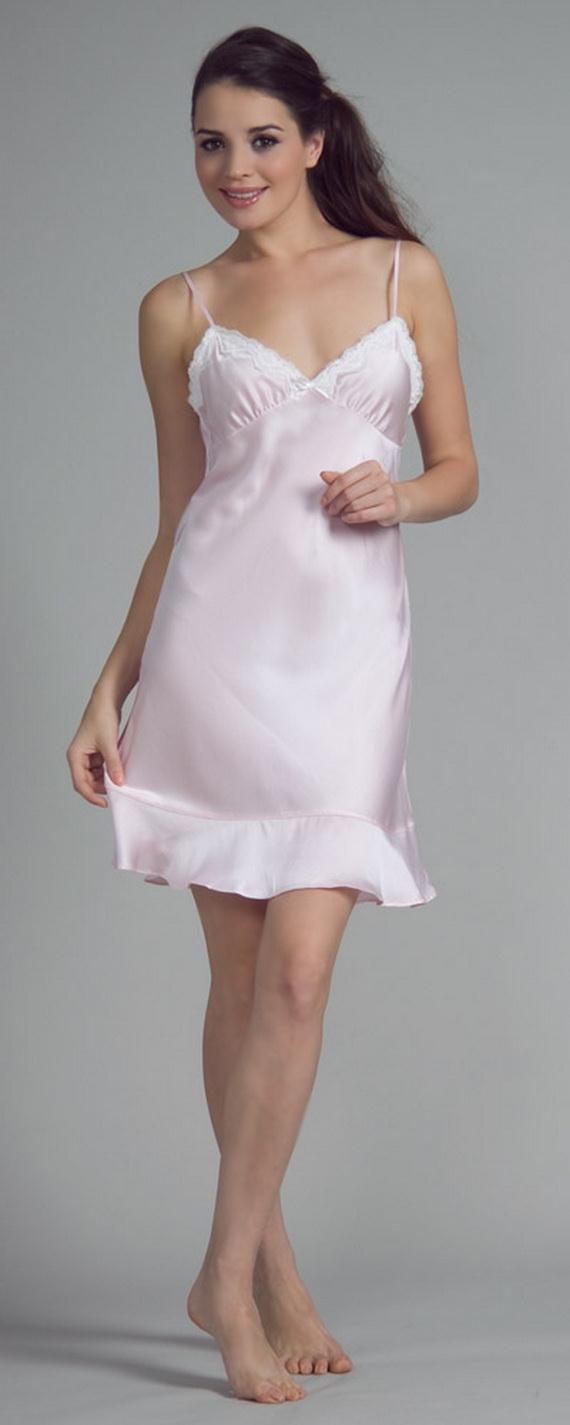 White Exquisitely Beautiful And Romantic Luxury Nighties  3f8b685b2