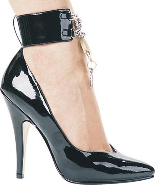 Ankle Cuff High Heel Pumps 3 She12 Girls Beauty Salon