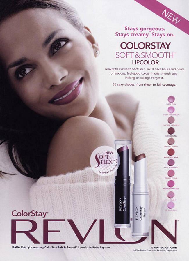 Halle Berry Beauty Brand Revlon Makeup Campaign Spring 2012 ...