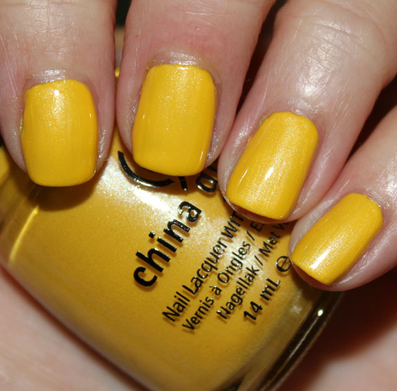 China Glaze Yelllow Sunshine Pop
