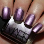 NARS Shimmery Metallic Silvery Purple Shade Nail Polish 2012