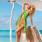 Beach Dress  Swimwear Bold and Vibrant