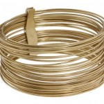 Jessica Simpson Wire Gild  Fancy Bangles