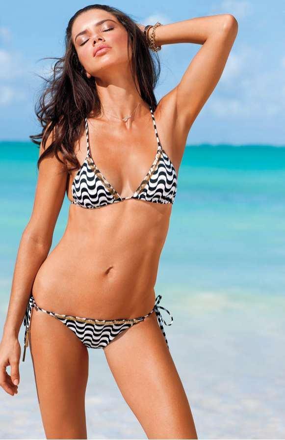 69e5744b0c Victoria Secret contrast ties Beach Dress