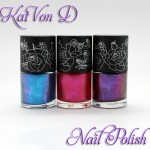 Kat Von D High Voltage Shimmery Nail Lacquer