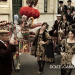 Dolce & Gabbana Bustling And Joyful Atmosphere  Ad Campaign Fall Winter 2013