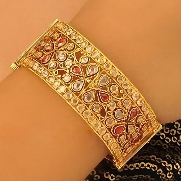 Gold and Diamond Fashion 22 Carat Ruby Gold Bangles 6