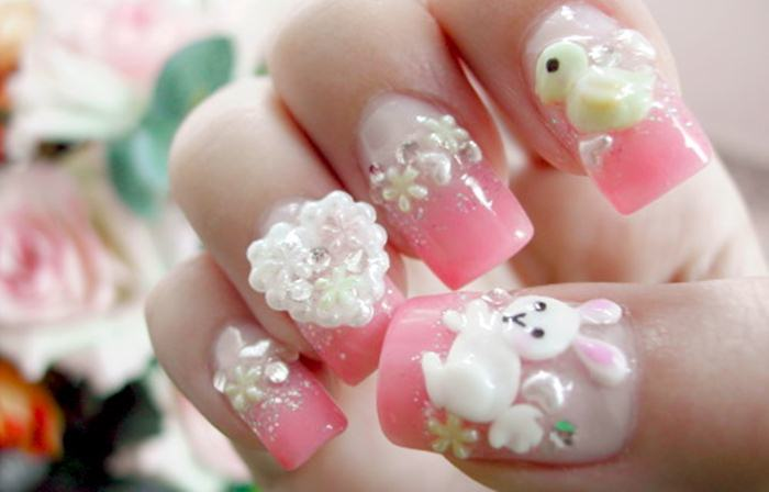 New year 3d beats nail art designs she12 girls beauty salon new year 3d beats nail art designs prinsesfo Image collections
