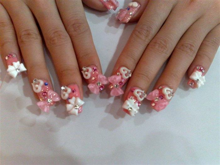 Party Nail Art Designs Party 3d Beats Nail Art