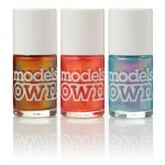 Three New Shades of Models Own BEETLEJUICE Nail Polish