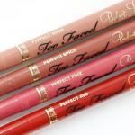 Too Faced Perfect Super Silky Creamy Lip Liners