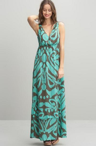 Ankle Maxi Dresses For Celebrities Hollywood Style 14