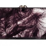 Charlotte Olympia Pandora Feather Clutch 2