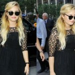 Demi Lovato Enchanting New Hair Color 2012