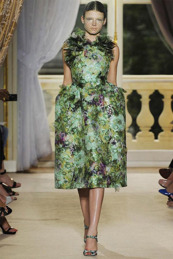 Giambattista Valli Haute Couture Green Prom Dress Collection Are Awesome