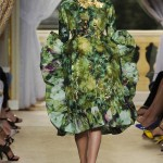 Giambattista Valli Haute Couture Green Flowery Freak Collection 15