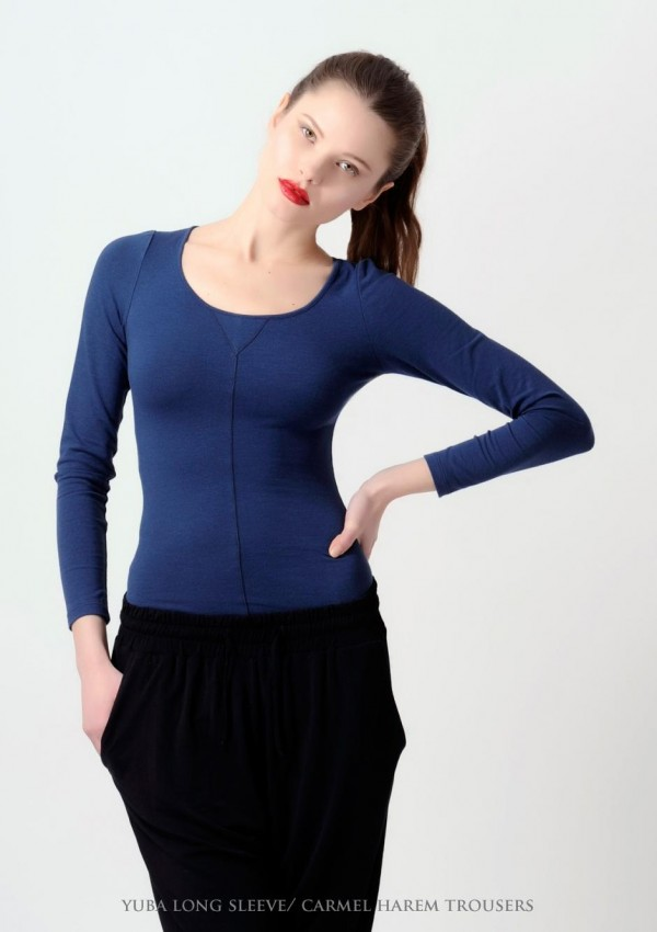 Yuba Long Sleeves Skin Tight Shirt She12 Girls Beauty Salon