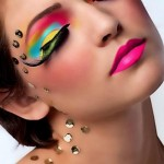 Rainbow Exotic Eye Color Makeup 1