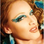 Rainbow Exotic Eye Color Makeup 2