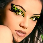 Rainbow Exotic Eye Color Makeup 4