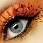 Rainbow Exotic Eye Color Makeup 5