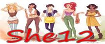 She12: Girls Beauty Salon