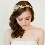 Wedding Day Bridal  Medium Hairstyles 31