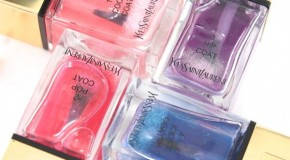 Yves Saint Laurent La Laque Couture Tie & Dye Top Coats Nail Polish